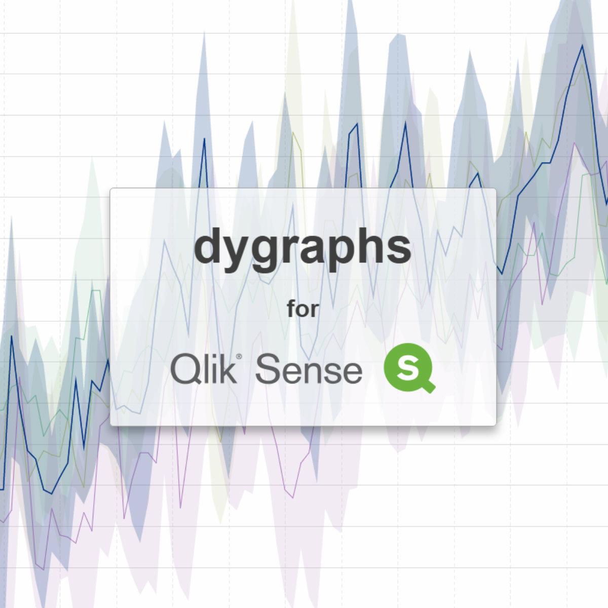 Usage   dygraphs for Qlik Sense